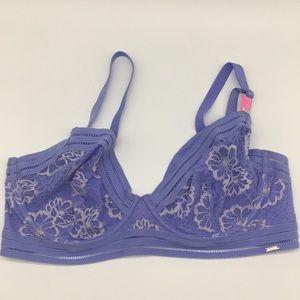 36DD Victoria's Secret PINK Unlined Bra Purple DD